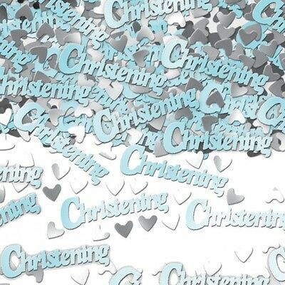5 Packs Blue Christening Baby Boy Table Confetti Sprinkles