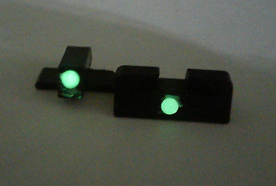 Toy Glow Sight set for Sig Sauer P228 rear front rear dovetail quick aim
