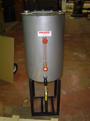 19 x 30 Dry cleaning Stainless Steel Return Tank for 10 to 15 hp boiler