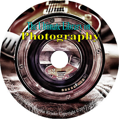 Photography Photo Photographer Camera Pictures How to 195 Vintage Books on DVD