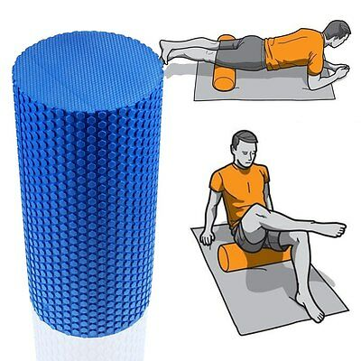 New Grid Foam Roller Trigger Point Gym Sports Massage Physio Injury Yoga Roller