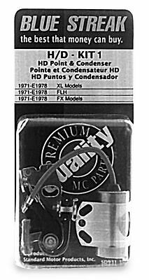 Blue Streak Points And Condenser Kit Standard Motor Products  H/D-KIT1