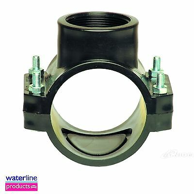 Single Reinforced Clamp Saddle for Blue Water/MDPE/Alkathene Pipe