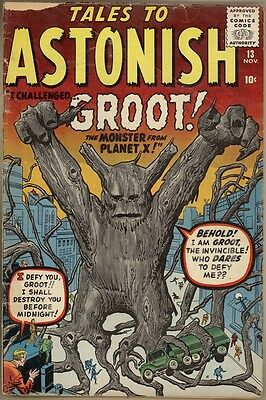 Tales To Astonish #13 - G+ - 1st Groot