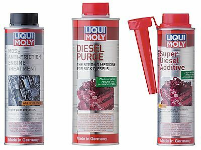 Liqui Moly Diesel Clean & Engine Oil Anti-Friction Treatment Kit LiquiMoly
