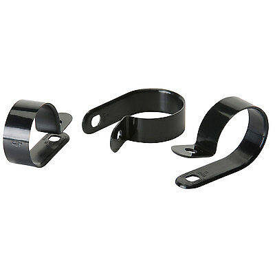"Heavy Duty Cable Clamps 1"" Black 100 Pcs."