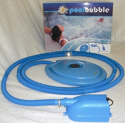 Whirl Pool, Mega Bubble Pool Chlor Schwimmbad