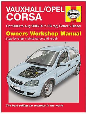 haynes owners workshop manual vauxhall opel corsa 2000 2006 petrol rh picclick co uk 2000 Vauxhall Astra Vauxhall Corsa 2004