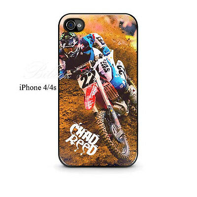 Chad Reed Motocross Rider Custom iPhone 4/4s, 5/5s, 5C, 6 and 6 plus Case