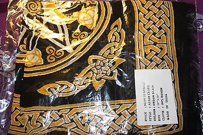 Goddess Altar Cloth w/ Pentacle -Wicca, Witch, Pagan