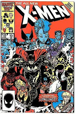 X-Men Annual #10 (48 pages, 1986 vf- 7.5) first appearance Longshot
