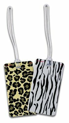 Belle Hop Zebra Fashion Luggage Tag