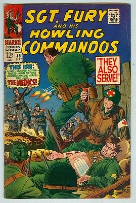 Sgt Fury and His Howling Commandos #46 September 1967 VG