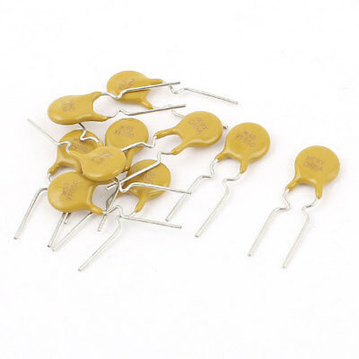10 Pcs 60V 0.5A 500mA Resettable Fuse Radial Lead PPTC Polyswitch