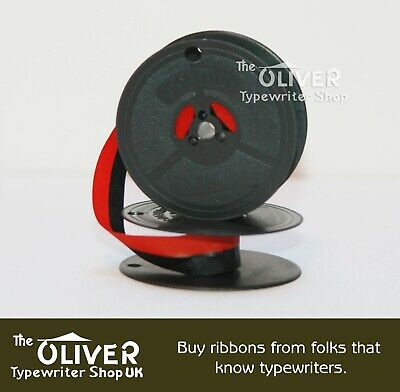 CONSUL TYPEWRITER RIBBON,Portable,Silent,2223,221,224(Norwood)SilverReed RED/BLK • EUR 4,19