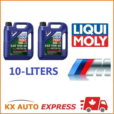 Liqui Moly Race Tech GT1 SAE 10W-60 Full Synthetic Engine Oil BMW M3 M5 M6 Z4 Z3