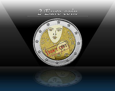 "FINLAND 2 EURO 2006 "" Equal suffrage "" Commemorative coin * UNCIRCULATED"