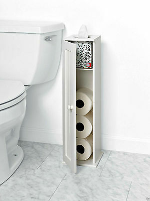 Wall Mounted Magazine And Toilet Paper Holder Bathroom