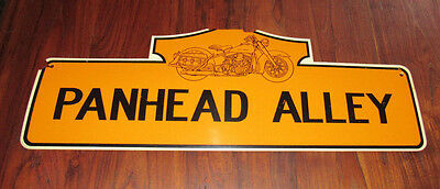 Panhead Alley Sign