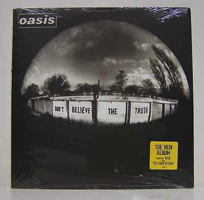 Oasis - Don´t Believe The Truth - LP VINYL USA - SEALED MINT