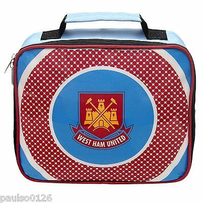 West Ham United  FC Soft Lunch Bag  Bag New Official Product ( Bullseye Design )