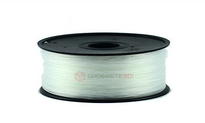 Fil Filament 3D PLA 1.75mm Transparent 1 Kg imprimante 3D