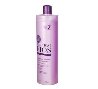 Step 2 Cadiveu Plastica Dos Fios Brazilian Keratin Treatment 1 Liter Blow Dry