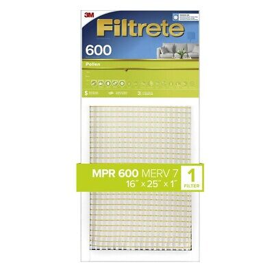 3M Filtrete 16x25x1 Dust and Pollen Air Filter