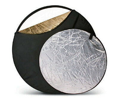 """43""""/110cm 5in1 Collapsible Light Reflector Disc OZ Stock Seller fast delivery"""
