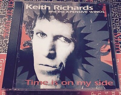 KEITH RICHARDS - ROLLING STONES - TIME IN MY SIDE -CD LIVE CANADA 93 NO CDr MINT