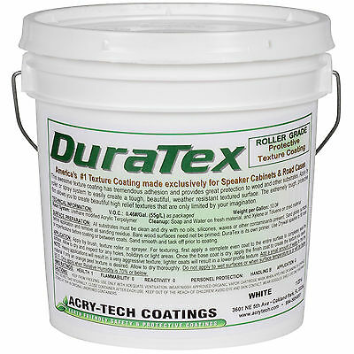 Acry-Tech DuraTex White 1 Gal Roller Grade Cabinet Coating