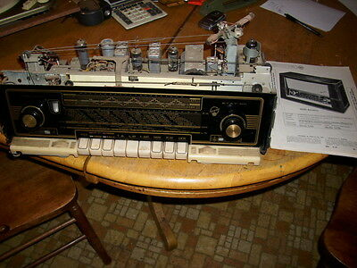Blaupunkt Arkansas 58 am fm sw receiver made in germany