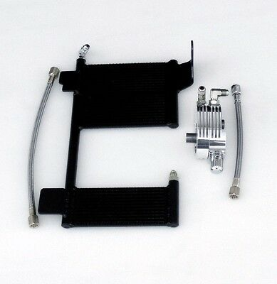 OilBud 99-08 Touring Oil Cooler With Polished Adaptor