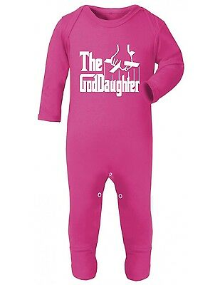 Sleepsuit - God Daughter Baby Gift Funny Present Christening Shower Grow