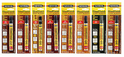 Minwax Wood Finish Stain Marker 1/3oz NEW!! *CHOOSE YOUR COLOR* Touch Up Pen