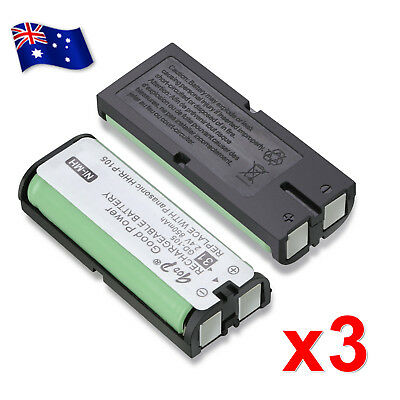 Battery For Panasonic HHR-P105 HHR-P105A Cordless Phone Replacement Ni-MH 2.4V