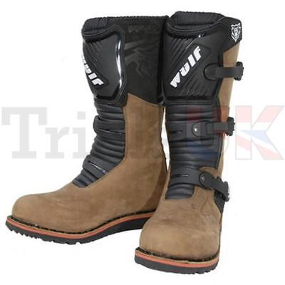 Wulfsport Trials Boot Brown- Adventure - Off Road- Trail