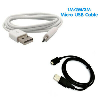 Extra Long Micro USB Charger Cable Lead For Samsung HTC Sony Kindle PS4 XBOX ONE