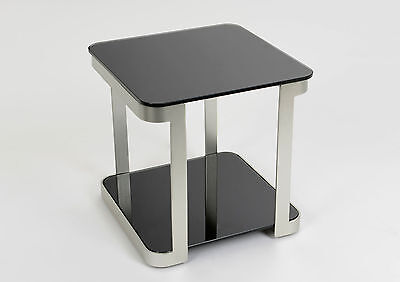 Table d 39 appoint tr pied nature bout de canap meuble design industriel vintage - Table bout de canape en verre design ...