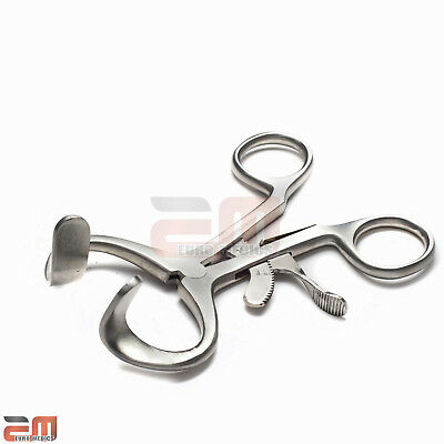 Dental Mouth Gag Molt Retractor 11cm, Save £22, 3 YR Warranty, Stainless St, CE