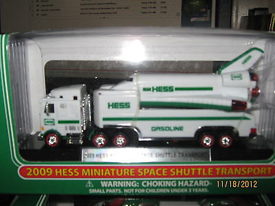2009 Hess Mini Space Shuttle Transport-FREE SHIPPING