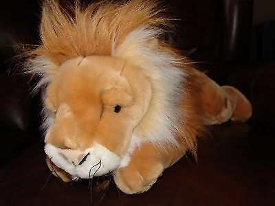 FAO Schwarz Lion Plush Doll 25""