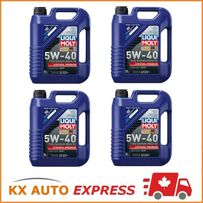 20L Liqui Moly Synthoil Premium SAE 5W-40 Fully Synthetic Engine Oil 2041