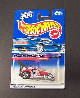 [1999] Hot Wheels Secret Code Series - Fiat 500C (#1/4)
