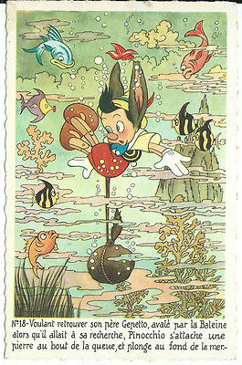 CPA - Carte Postale - WALT DISNEY - Edition Superluxe Pinocchio N°18 - Postcard
