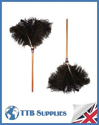 "MULTI PACK Genuine Dustease Premium Ostrich Feather Duster - 28""+ 28"""