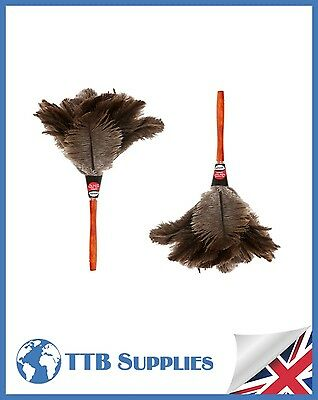 "MULTI PACK Genuine Dustease Premium Ostrich Feather Duster - 12""+ 12"""