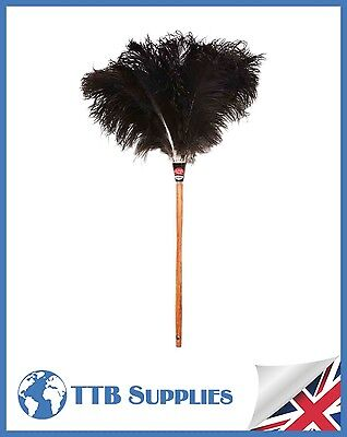 "Genuine Dustease Premium Ostrich Feather Duster - 28""/70cm"
