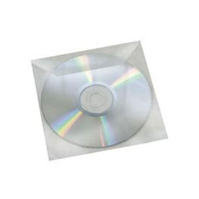 100 High Quality Cd/dvd Disc Clear Cover Plastic Sleeve 120 Micron Free Delivery