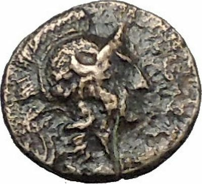 PERGAMON in MYSIA 310BC Hecules Athena Authentic Ancient Greek Coin i49524